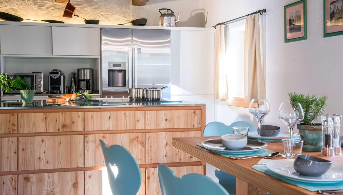 Käth & Nanei eine Küche die keine Wünsche offen lässt