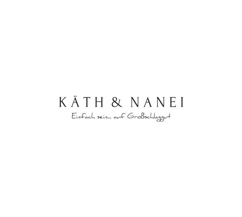 typografielogo Käth&Nanei