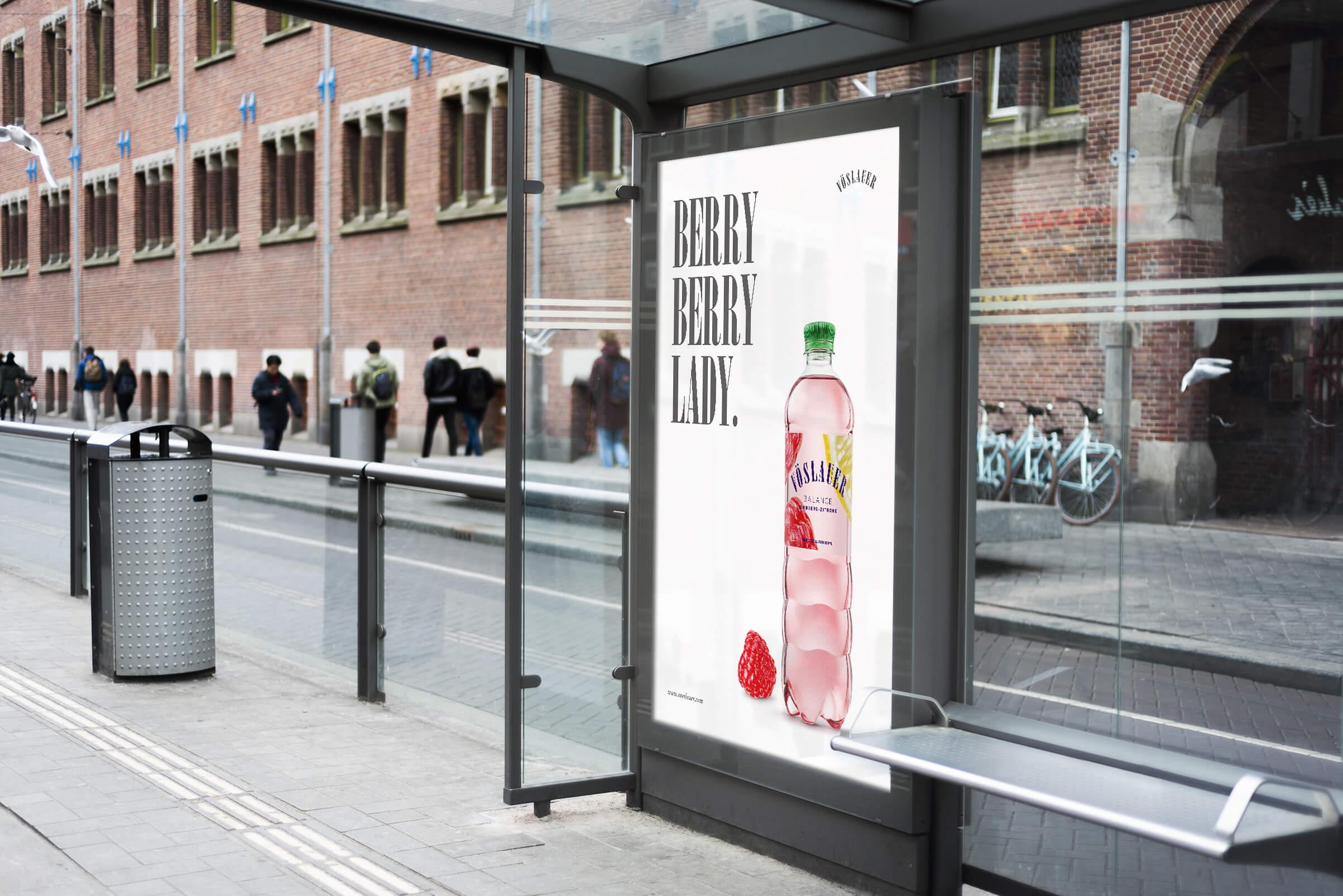Berry Berry Lady, Poster Konzept von Philipp Mandler