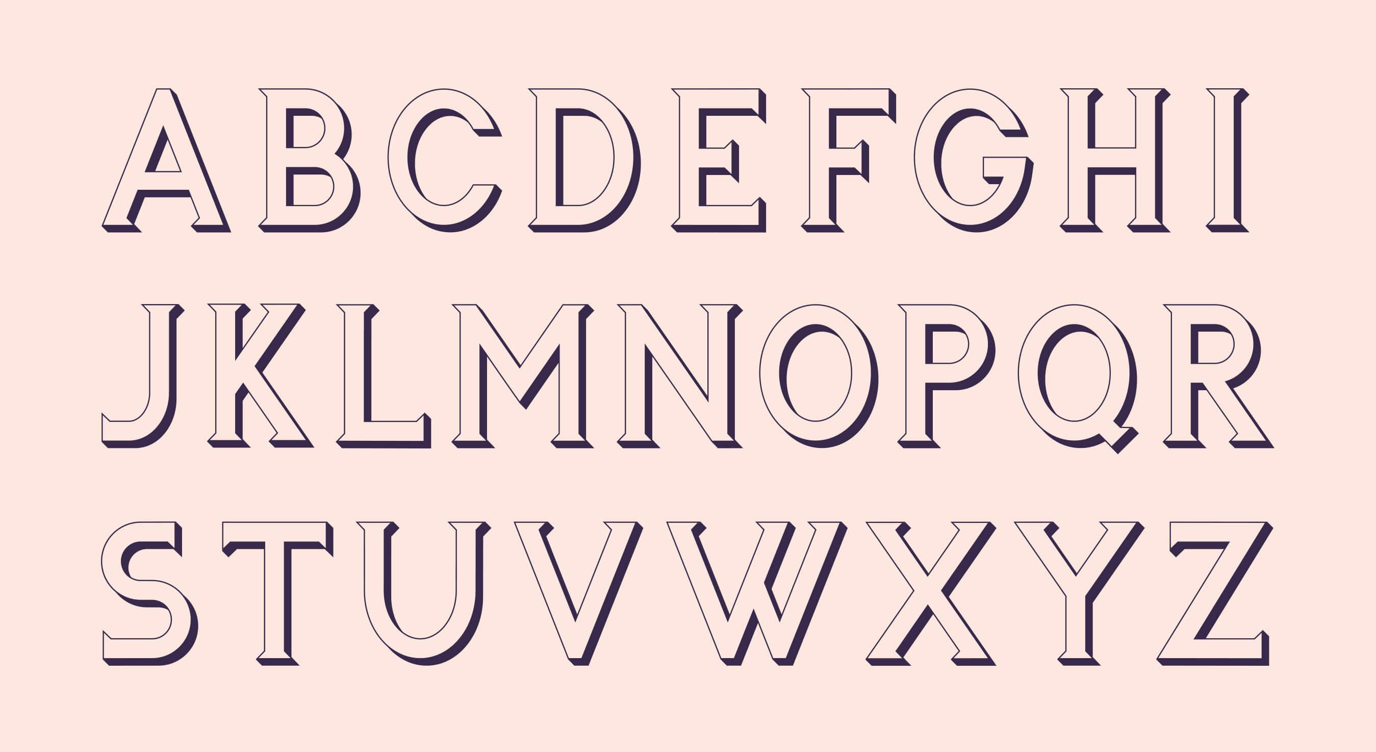 Alphabet_font