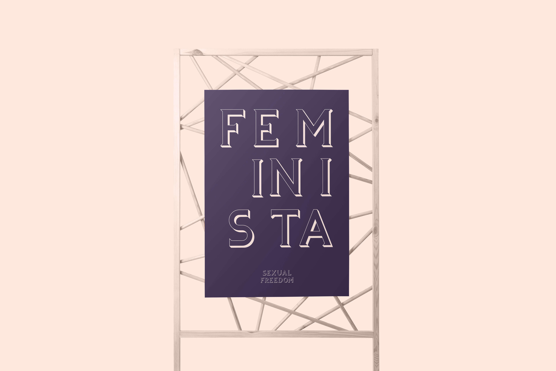 Feminista_Typography_Poster_V2